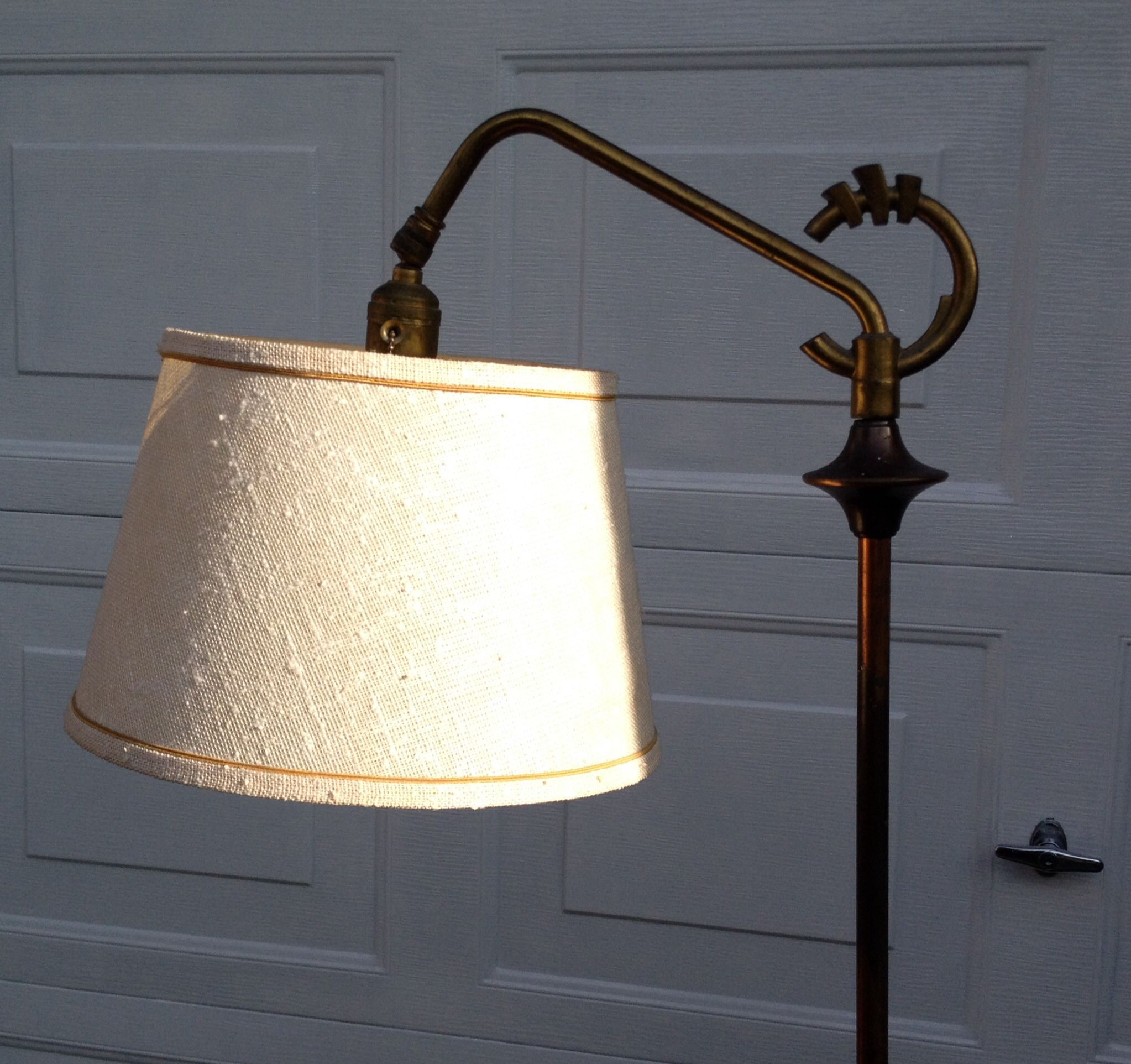 image p lamp new natural lampshade linen b shade supply product uno in drum view fitter window