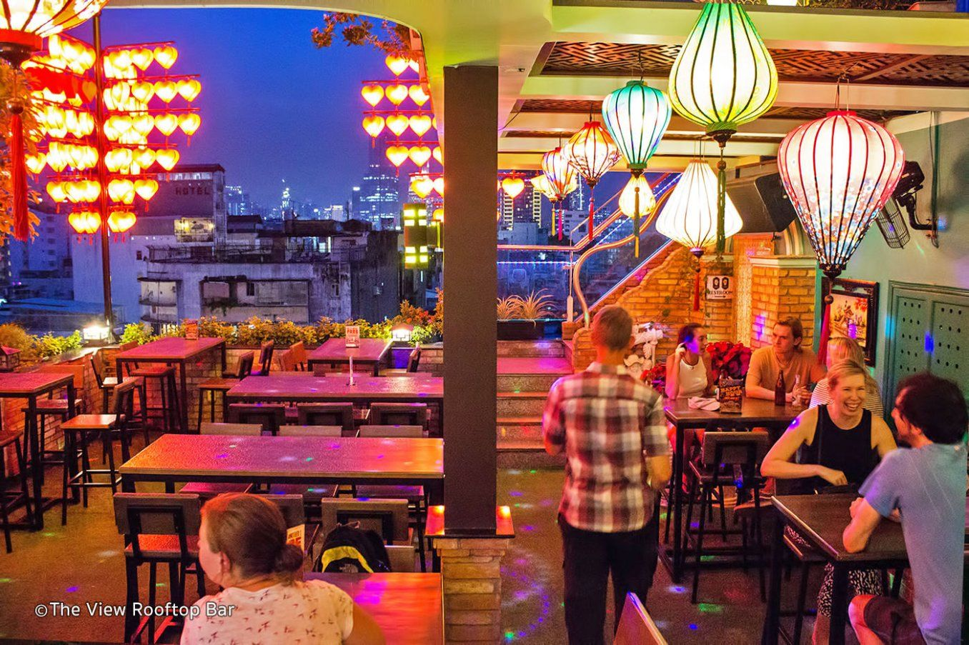 When It Comes To Nightlife In Ho Chi Minh City There S No Better Place To Party In Style Than A Sleek Rooftop B Best Rooftop Bars Rooftop Bar Ho Chi Minh