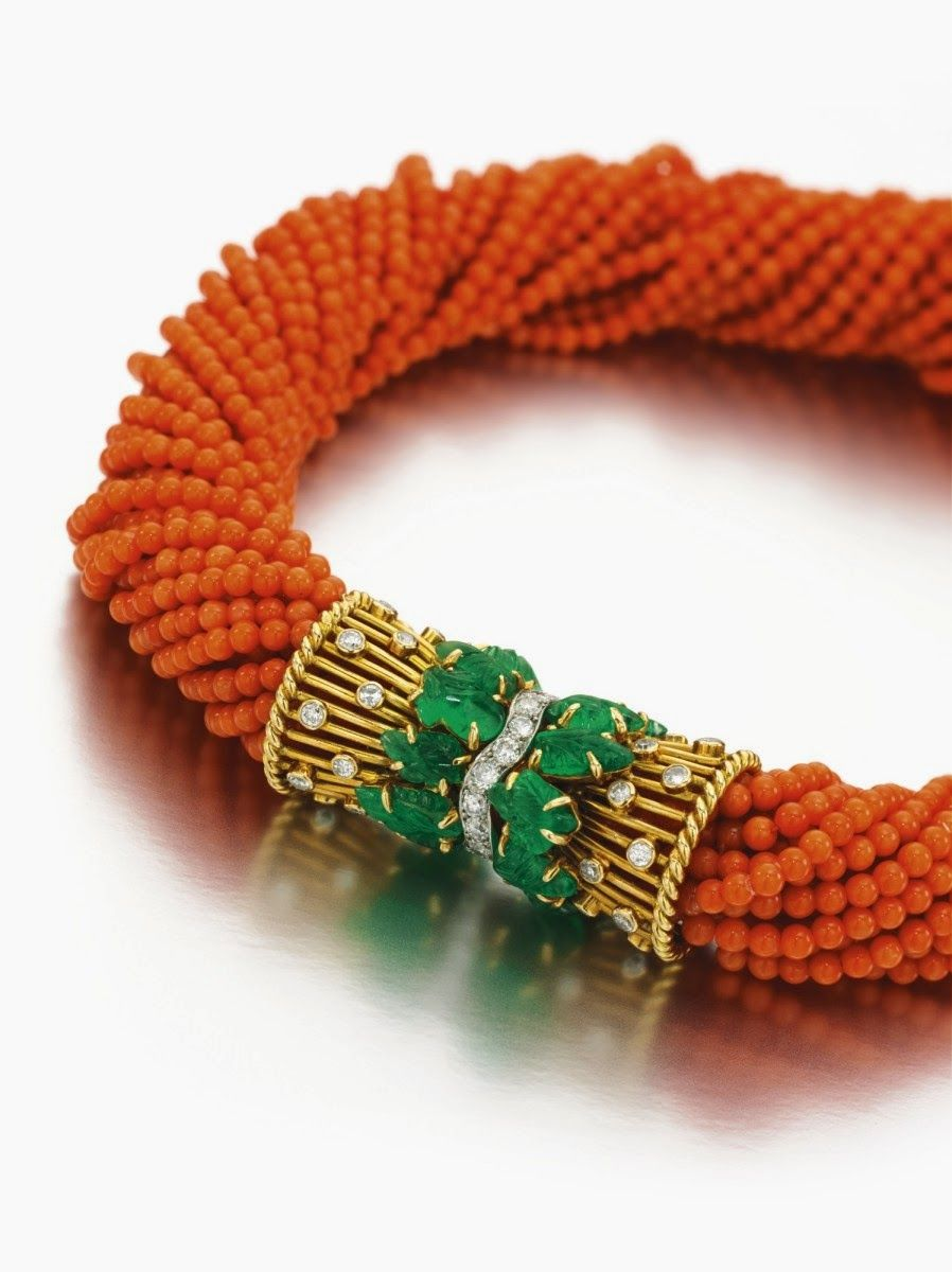 Silabablog Jewels Formerly The Property Of The Duchess Of Windsor Http Ow Ly Hodwn Coral Jewelry Royal Jewelry Fine Jewels