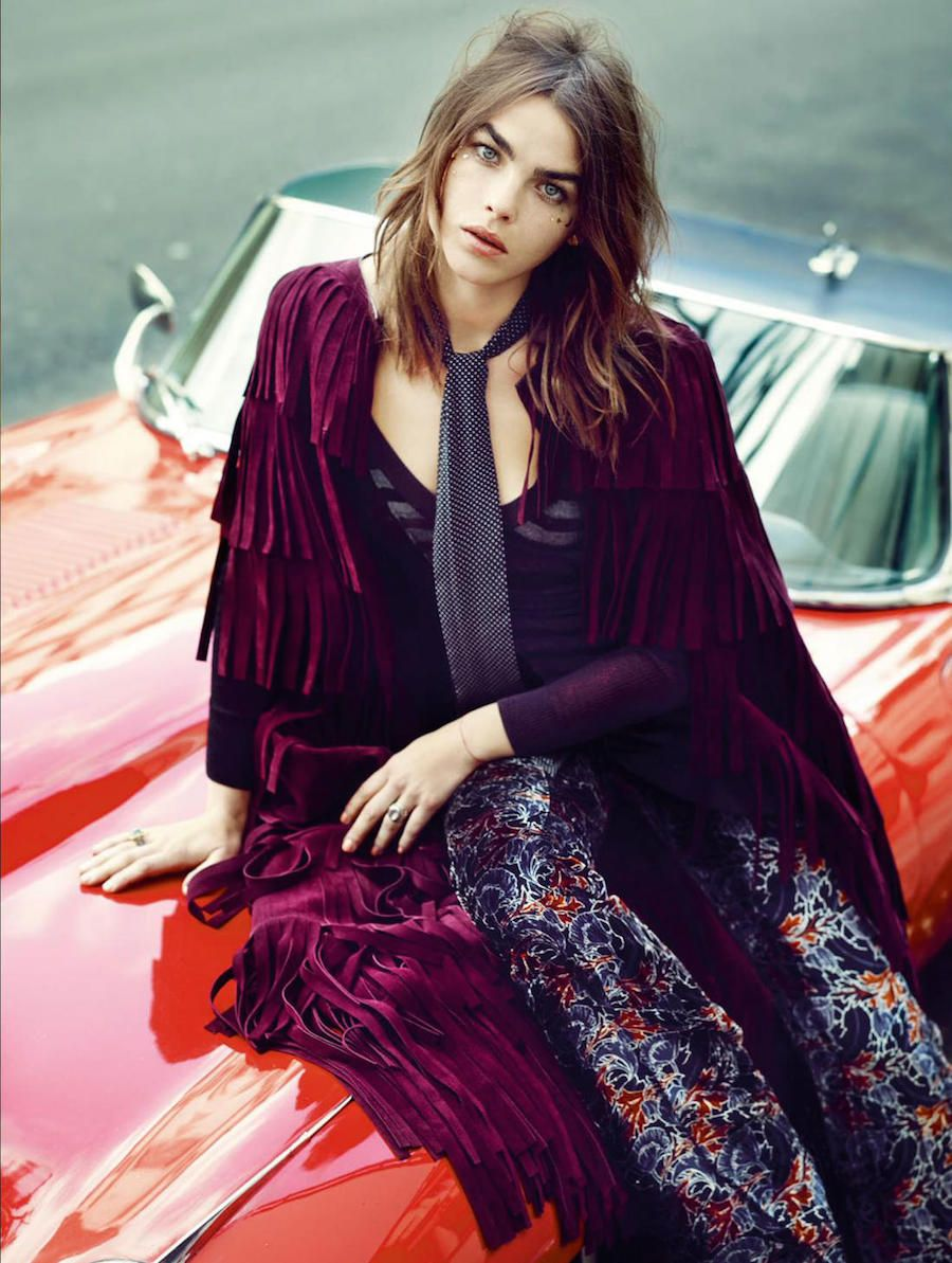 somerollingstone:   Bambi Northwood-Blyth by Marcin Tyszka for Elle UK Oktober 2015