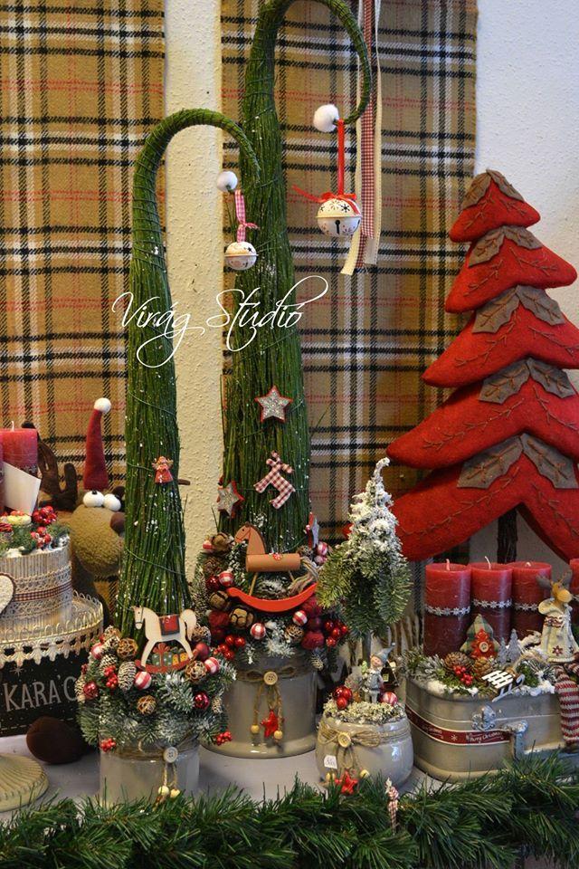 Timeline Photos Virag Studio Home Center Christmas Vignettes Christmas Display Christmas Tree Accessories