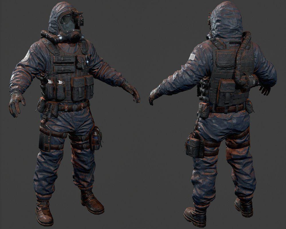 Soldier Video Games Rainbowsix Siege Digital Art Dark: Rainbow Six Siege Hazmat Operator By Luxox18