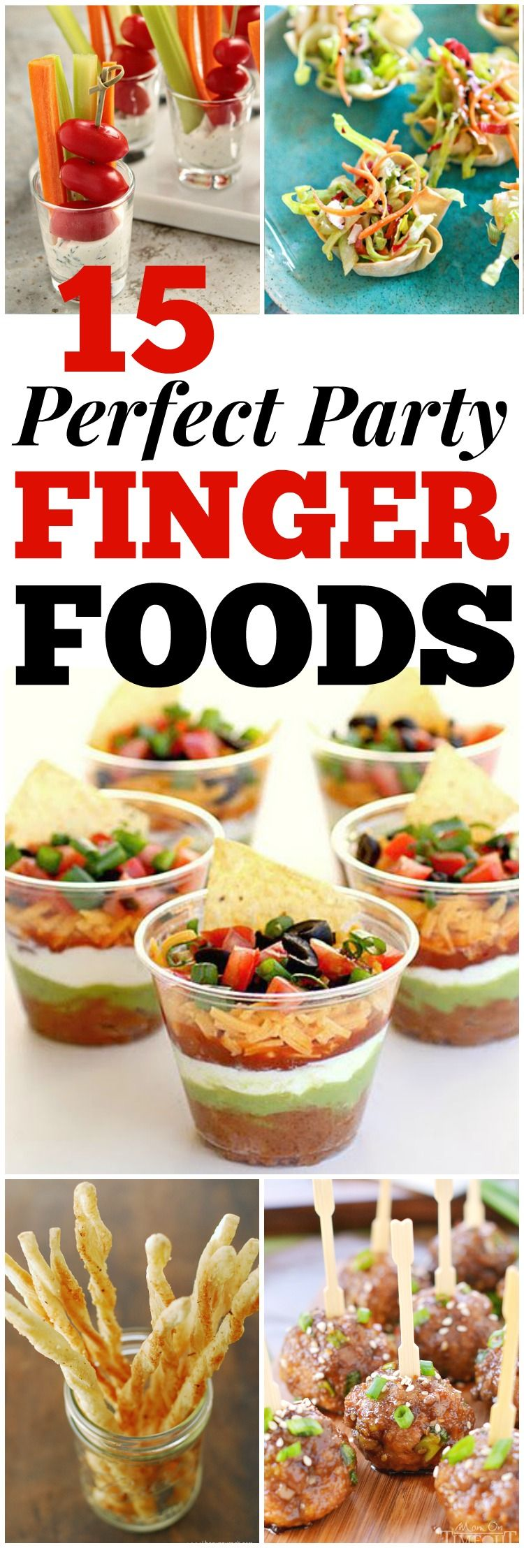 15 party finger foods the group board on pinterest pinterest looking for good hosting recipes these easy party finger food recipes include entrees appetizers sides and desserts to impress your friends and family forumfinder Choice Image
