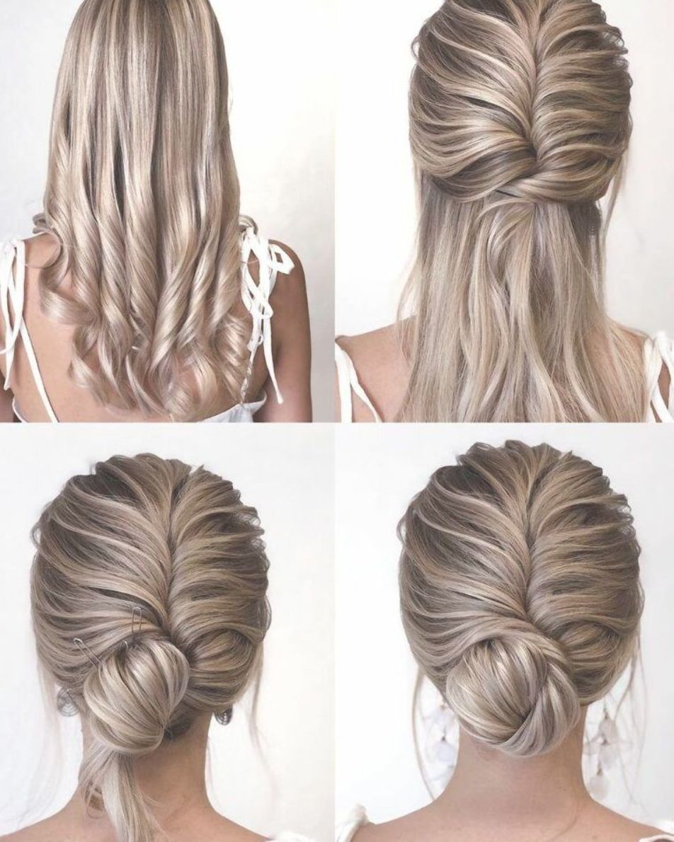 Gorgeous And Easy Homecoming Hairstyles Tutorial For Women With Medium Shoulder L Easy Homecoming Hairstyles Updos For Medium Length Hair Homecoming Hairstyles