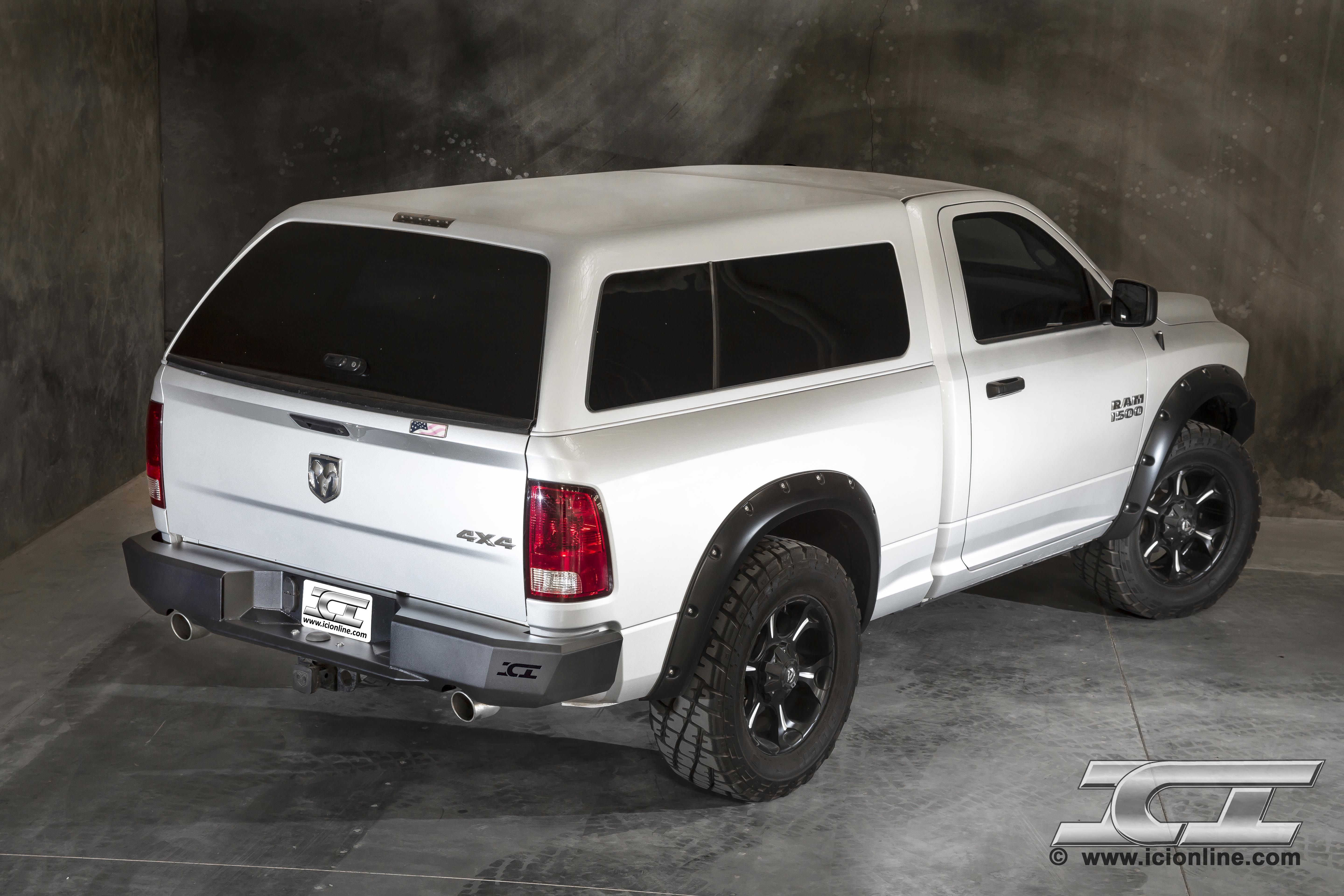 Rear Magnum Bumper For 2009 2014 Dodge Ram 1500 Sport And