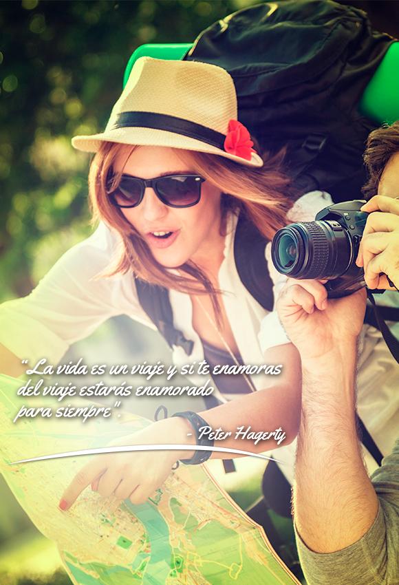 Ahora ya saben, ¡a viajar para escribir las mejores historias de vida!