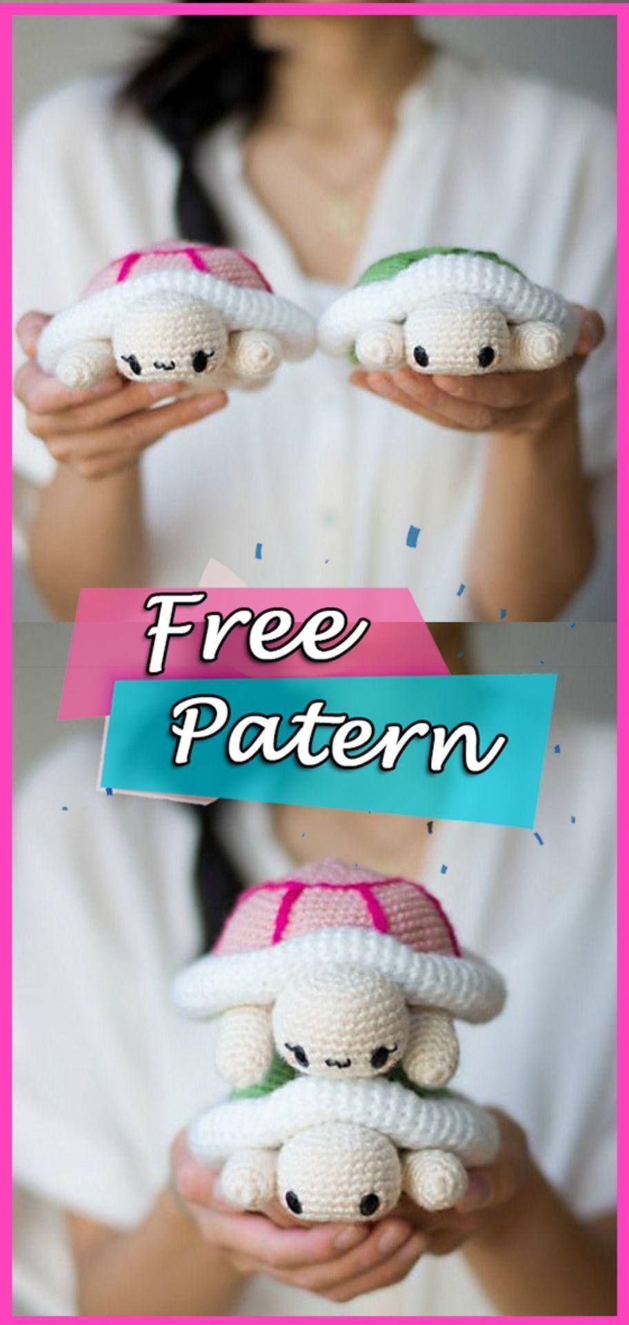 Amigurumi Turtle Crochet Free Pattern Animal DIY – YARN OF CROCHET