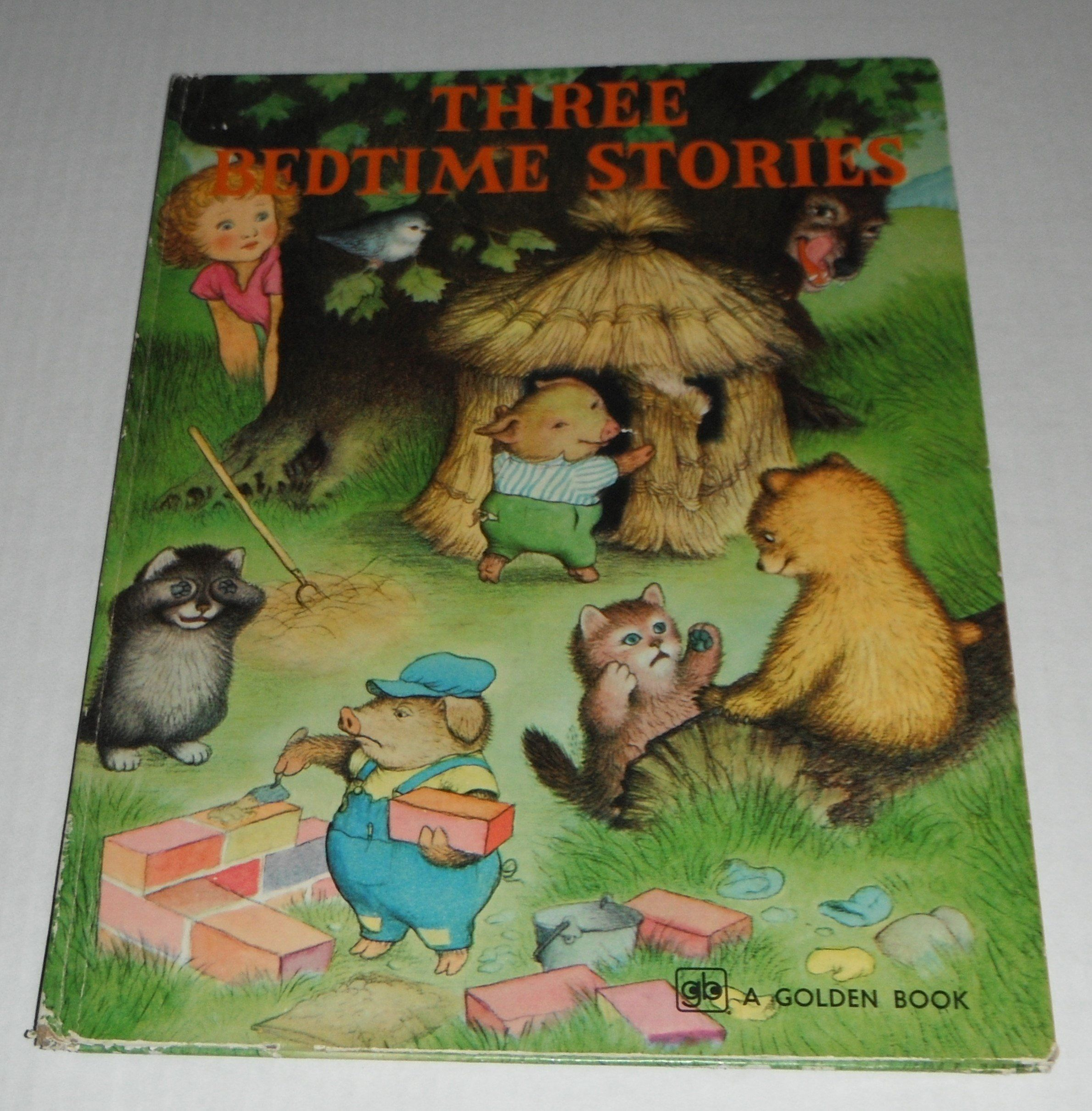 Three Bedtime Stories Pictures By Garth Williams The Three Little Kittens The Three Bears The Three L Bedtime Stories Garth Williams Vintage Children S Books