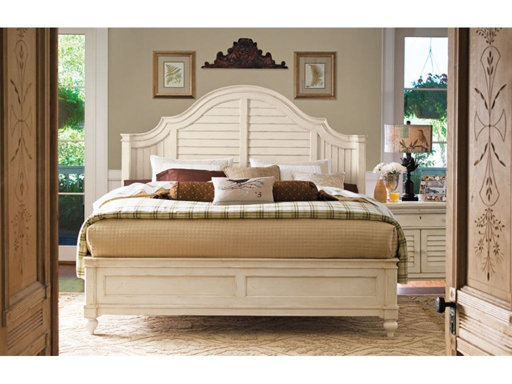 Paula Deen Furniture Outlet | Paula Deen By Universal Bedroom Steel  Magnolia Headboard 5/0