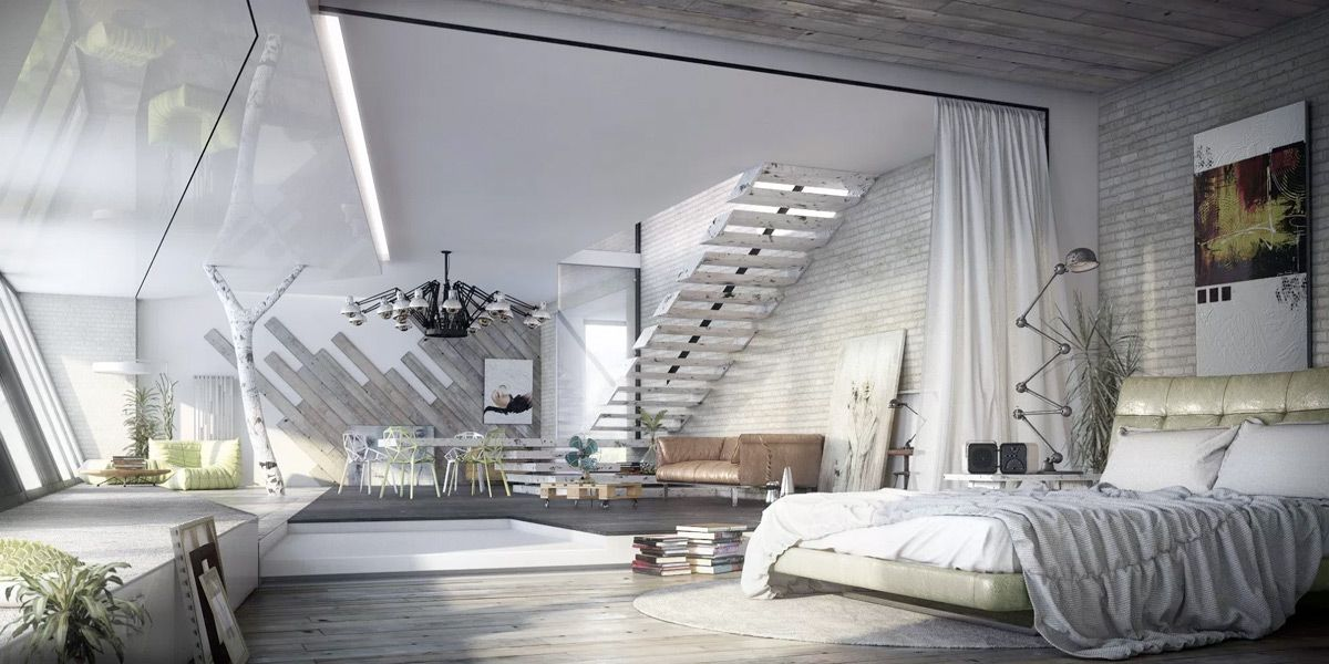Industrial Style Bedroom Design The Essential Guide Industrial