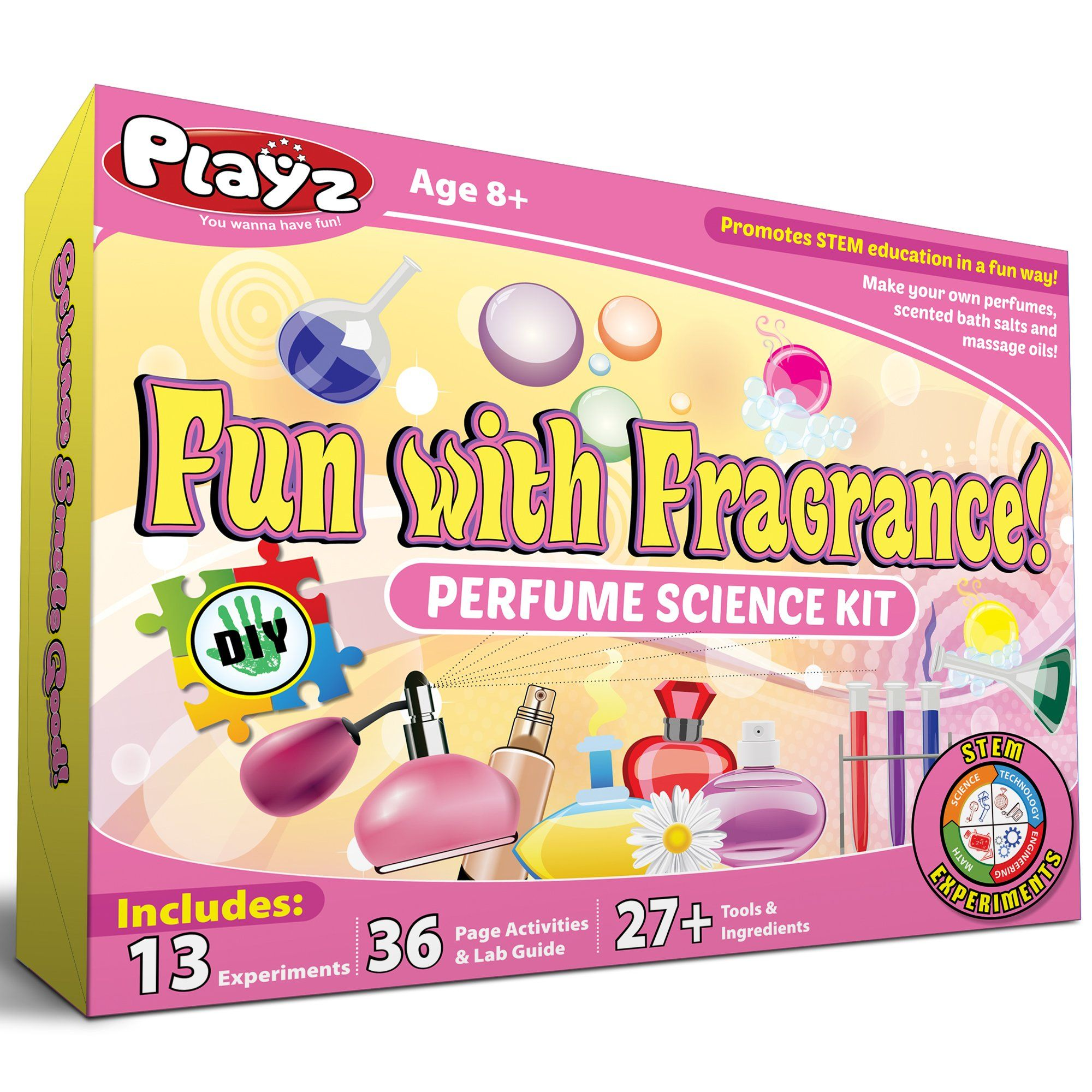 Playz Fun with Fragrance Perfume Making Science Kit for Kids - 13+