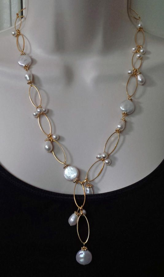 Custom Pearl Necklace And Earring Set Jewelry Creation