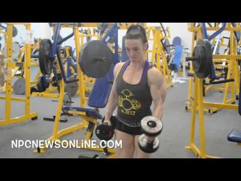 ifbb fitness pro jodi boam arm workout filmedjm