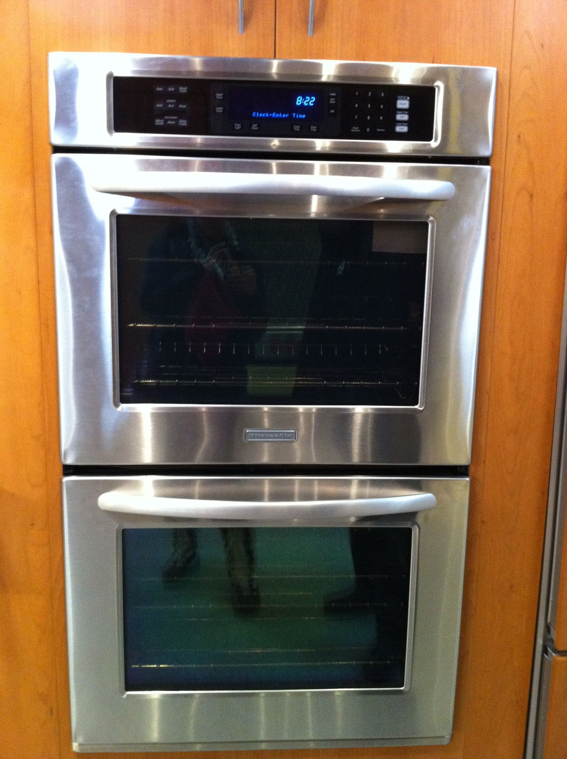 Superieur Kitchenaid Double Wall Oven *drool*
