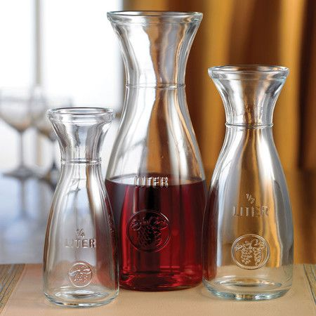 3 Piece Gloria Carafe Set