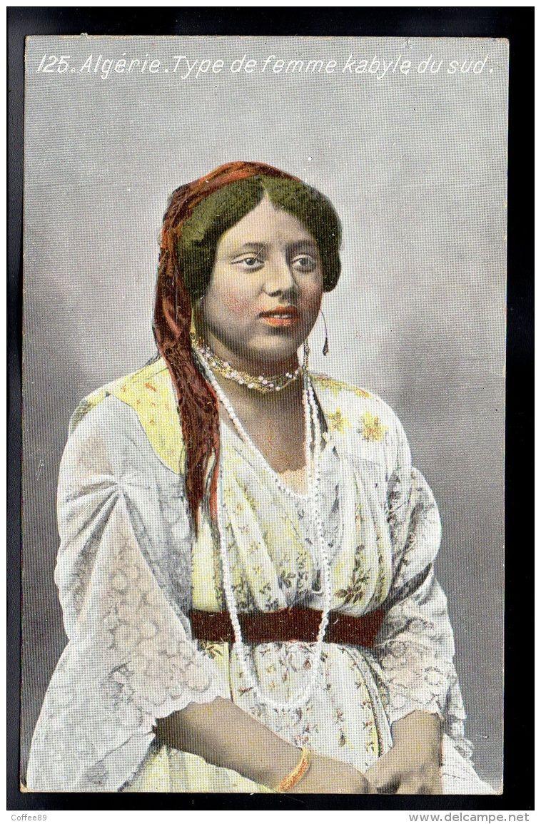 ALGERIE - Type De Femme Kabyle Du Sud - Algeria