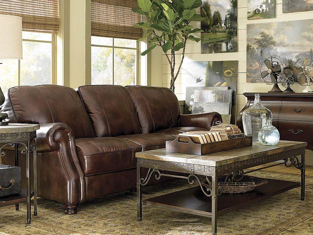 Sensational Pin By Bassett Furniture On Leather Furniture Living Room Ibusinesslaw Wood Chair Design Ideas Ibusinesslaworg