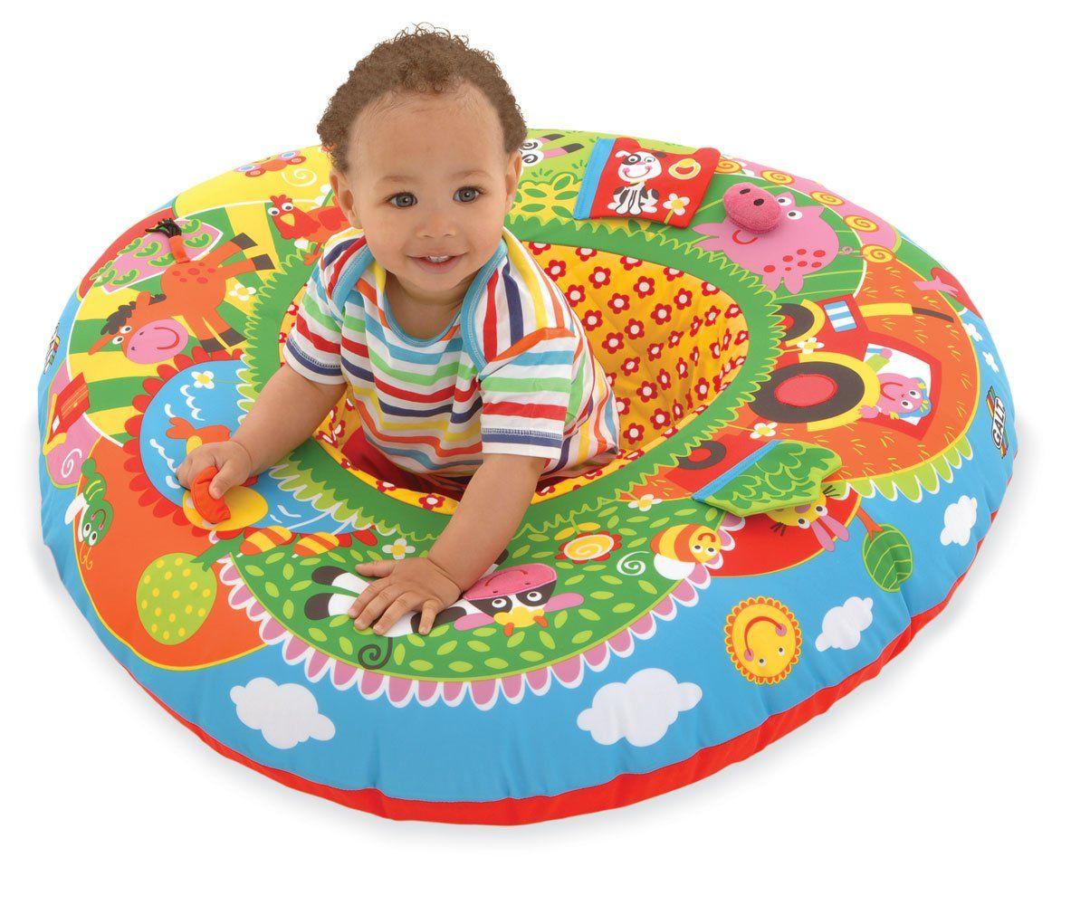 Farm Baby Activity Center /& Floor Seat Galt Toys Playnest