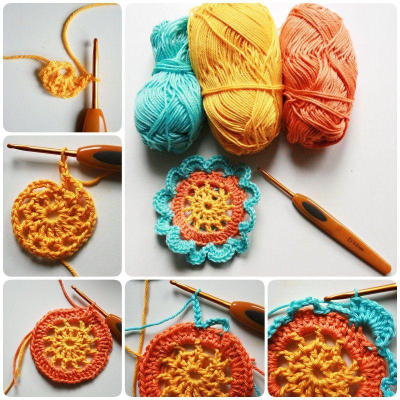 Crochet Japanese Flower With Free Pattern Japanese Flowers Flower
