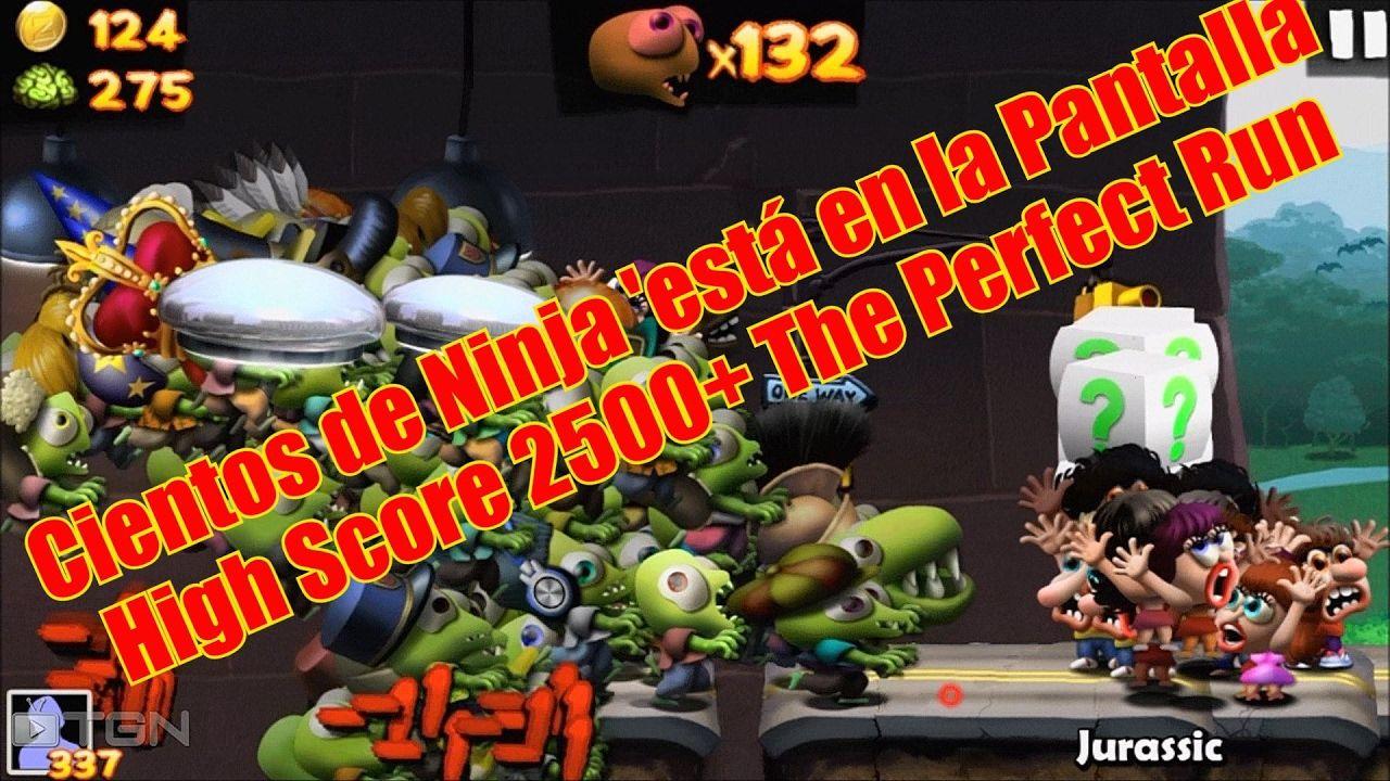 Zombie Tsunami Cientos de Ninja 'está en la Pantalla High