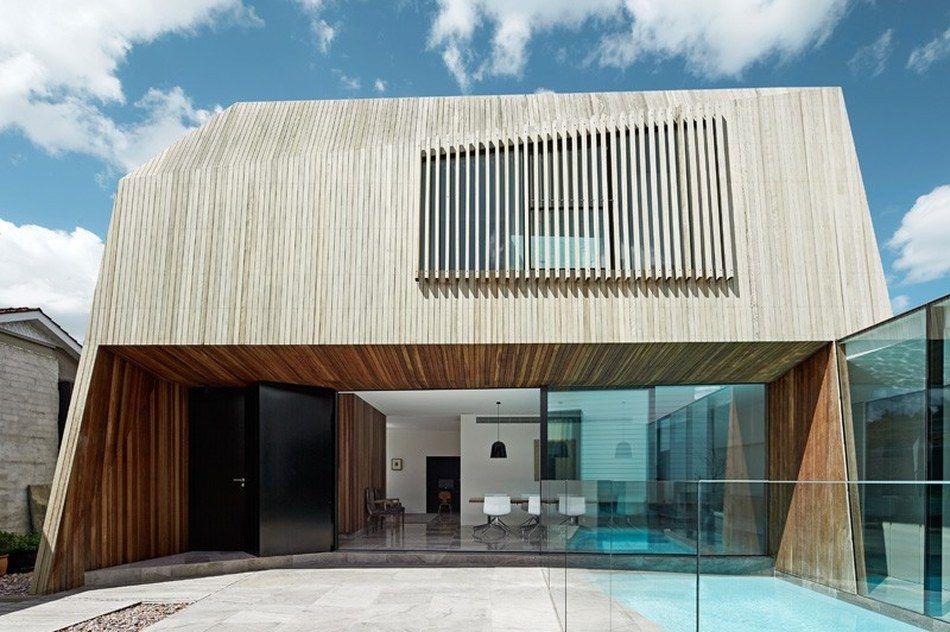 Réussir le défi de rénover et agrandir une maison sur une petite surface urbaine, Rénovation contemporaine par Coy Yiontis Architects - Balaclava, Australie #construiretendance
