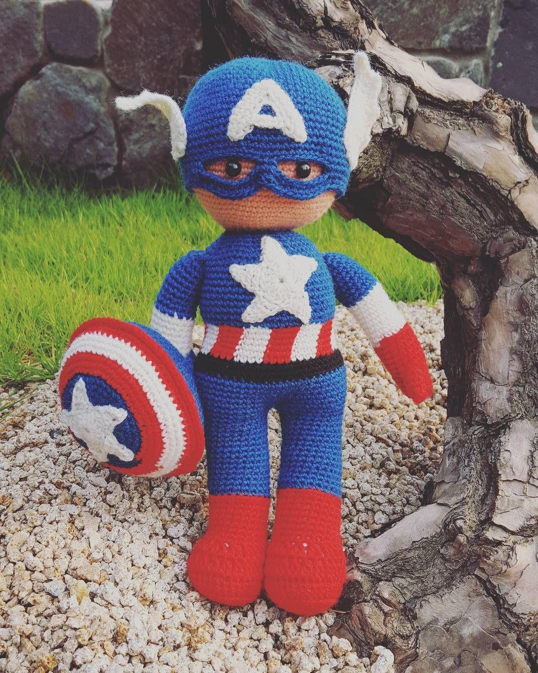 jenia_crochet_ #캡틴아메리카 완성  #일상 #일상스타그램 #코바늘인형 #코바늘뜨기 #뜨개질그램 #손뜨개그램 #손뜨개 #코바늘뜨기 #크로쉐그램 #크로쉐 #crochet #crochetlover #handmade #instacrochet #ilovecrochet #crochetaddict