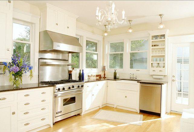 Elegant Bm White Dove Kitchen Cabinets