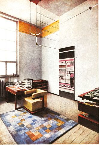 Walter Gropiusu0027 office at the Bauhaus Bauhaus Pinterest De