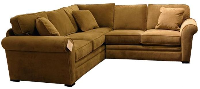 Choices Orion 2 Piece Sectional Sofa with Rolled Arms by Jonathan