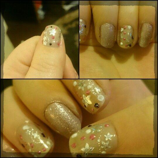 Today's nail art #nailart #nailpolish #diynailart #diynails