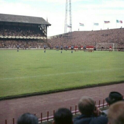 Roker Park Home Of Sunderland A Stadium Used At The 1966 World Cup Finals
