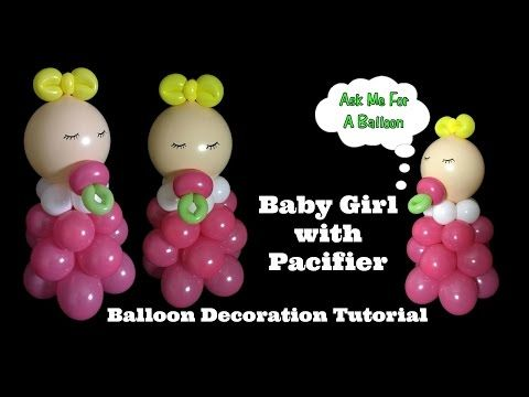 Easy Baby Shower Balloon Arch Decoration Diy No Helium Required