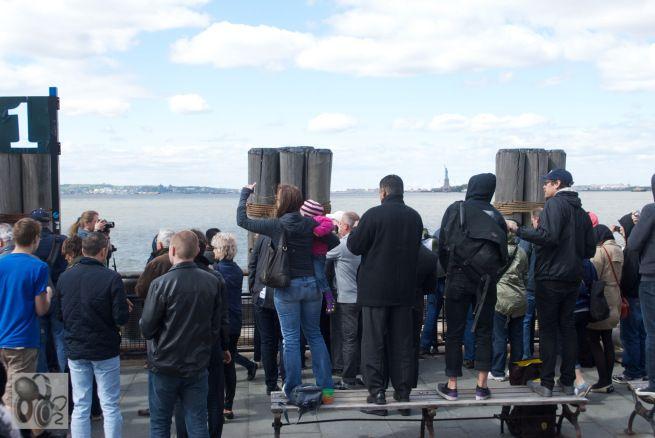 The Space Shuttle Enterprise Arriving In New York City (April 27, 2012) #1