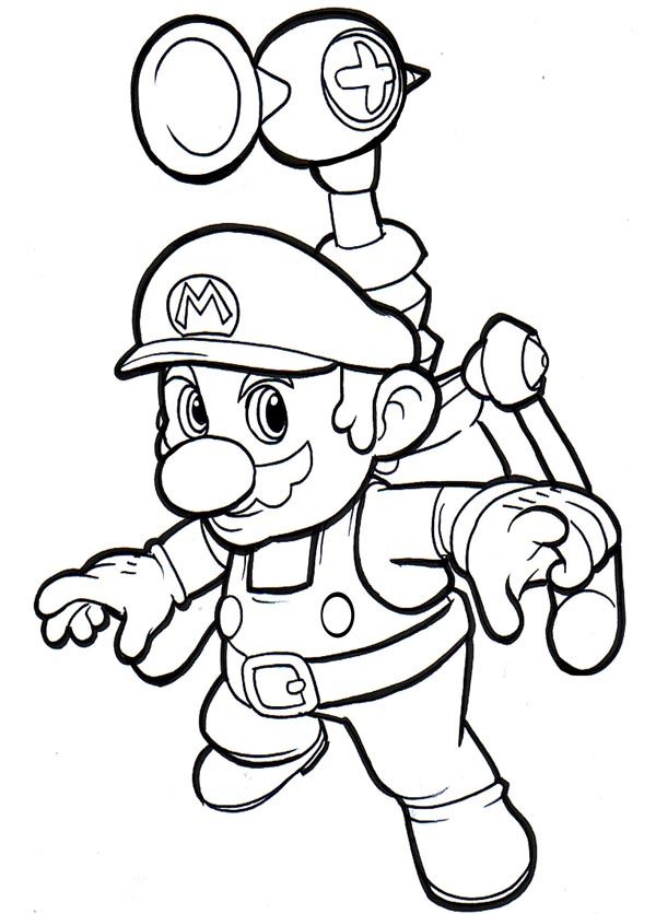Free Printable Mario Coloring Pages For Kids Super Mario Coloring Pages,  Super Coloring Pages, Mario Coloring Pages