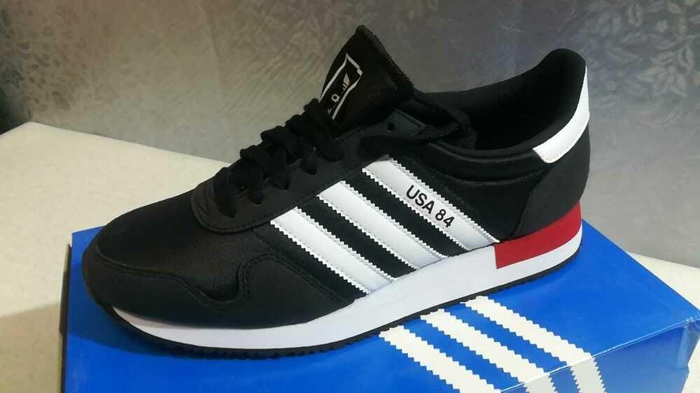 Chaussure Adidas USA 84 Homme FV2050 Couleur Noir/Blanc Taille 42 ...