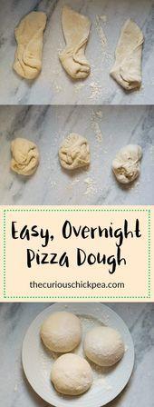 Easy Overnight Pizza Dough