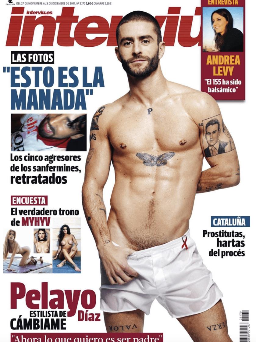 Andrea Jimenez Desnuda interviu magazine: pelayo diazpapo waisman | men