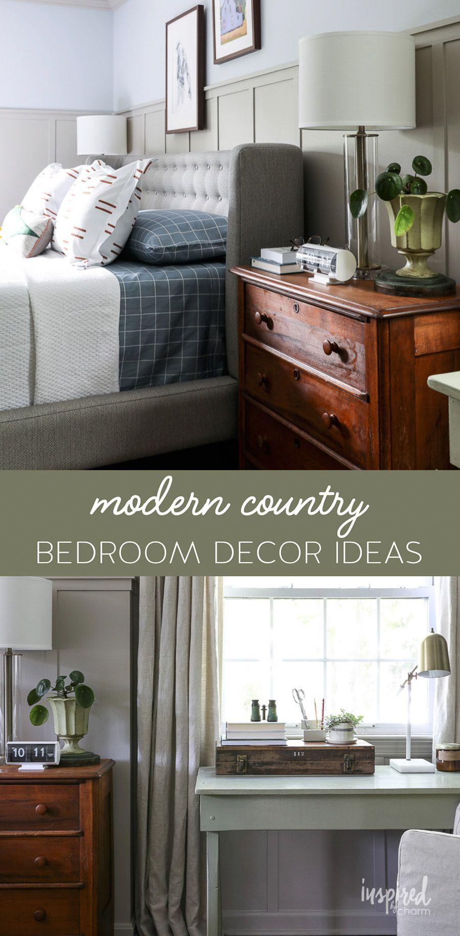 Master Bedroom Makeover Reveal Decor Ideas Decor Masculine Modern Country Bedroom Country Bedroom Decor Modern Country Bedrooms Master Bedroom Makeover