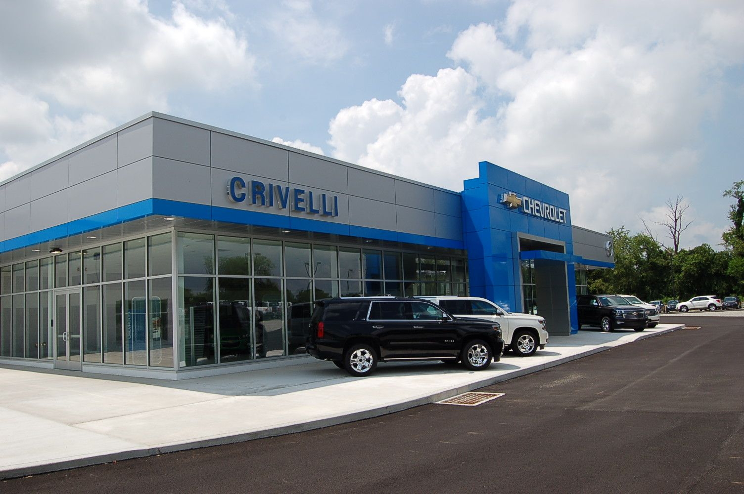 Crivelli Chevrolet Buick Mt Pleasant Pa Car Dealership Construction Process Corporate Design