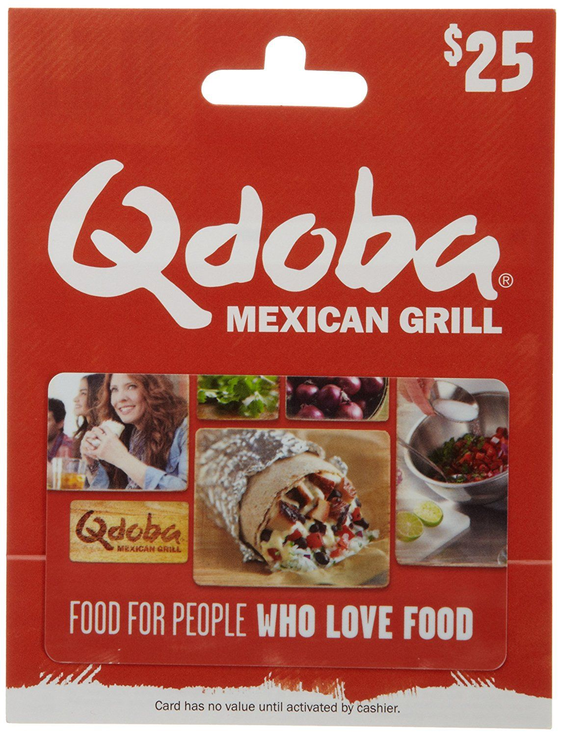 Qdoba mexican grill gift card awesome product click