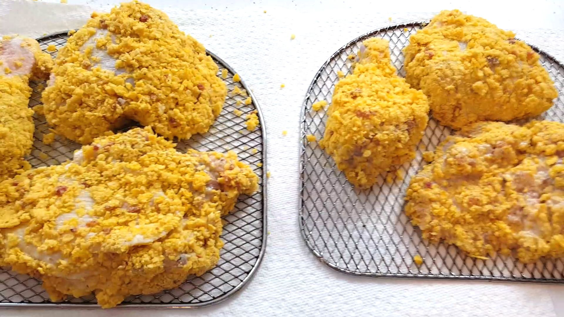 Crispy and Crunchy Air Fried Chicken made in the Power Air