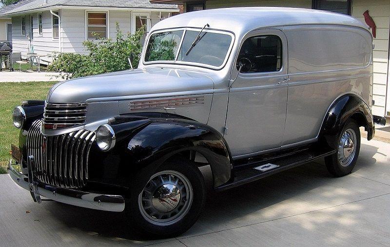1946 Chevrolet Panel Truck Panel Truck Chevy Trucks For Sale