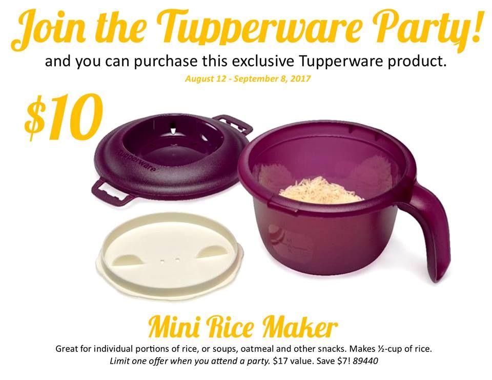 tupperware rice maker microwave dinners