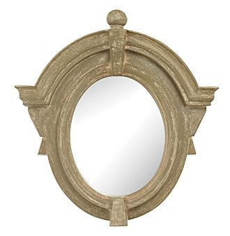 Sterling Parisian Dormer Mirror
