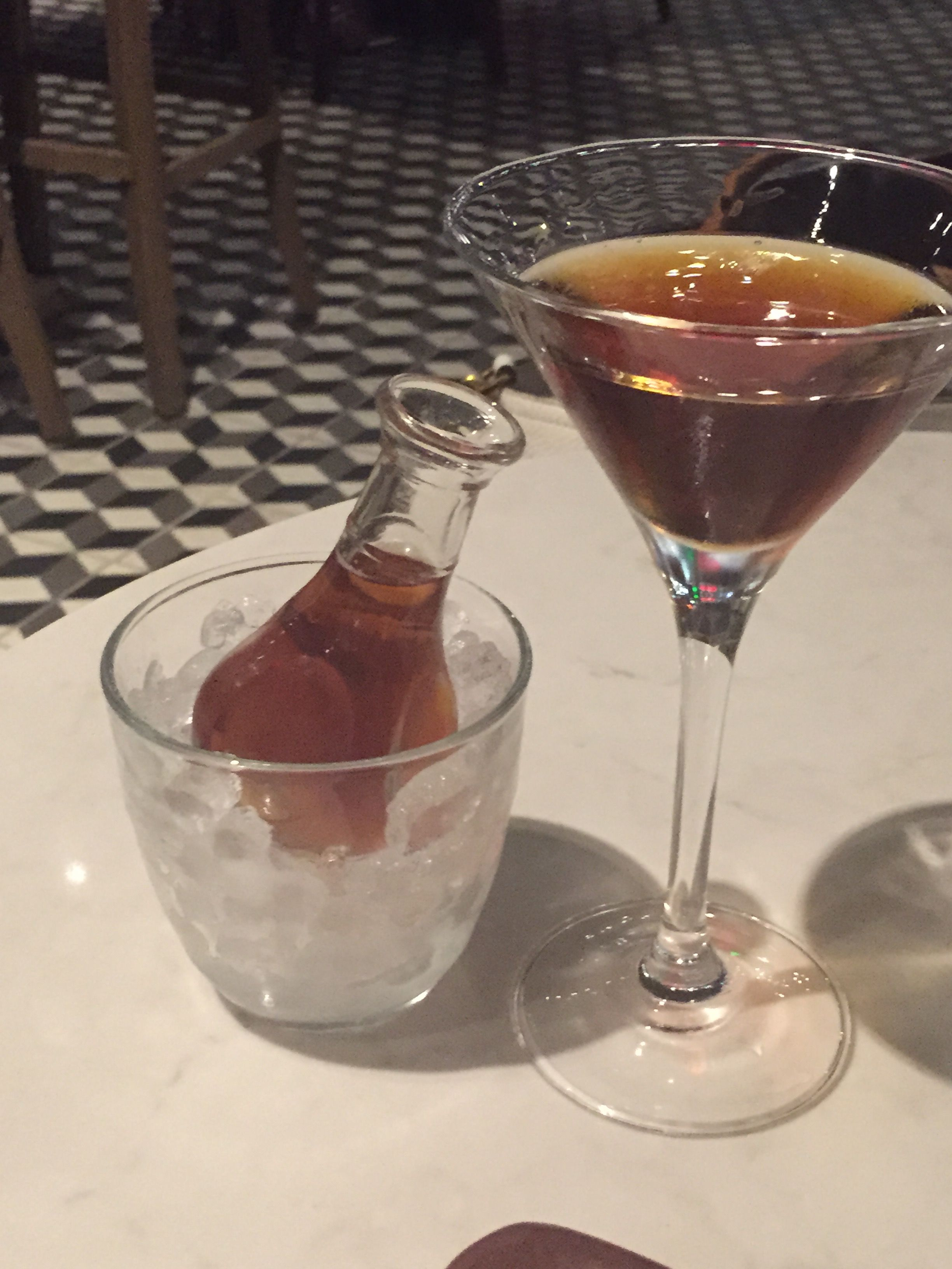 ALLSPICE rye whiskey, eight year aged rum, sweet vermouth, herbal liqueur, bitters ~ BDK SF