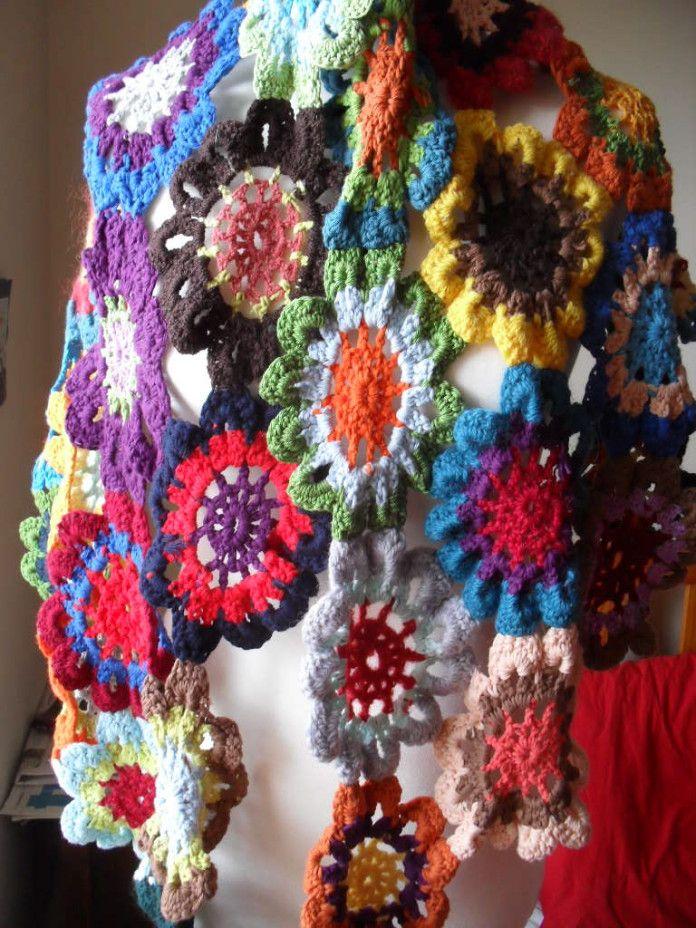 Crochet Japanese Flower With Free Pattern Japanese Flowers