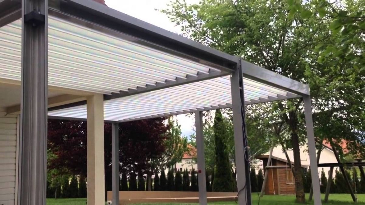 Wooden Gazebo With Retractable Roof | Http://web2review.info | Pinterest |  Wooden Gazebo, Construction And Spaces