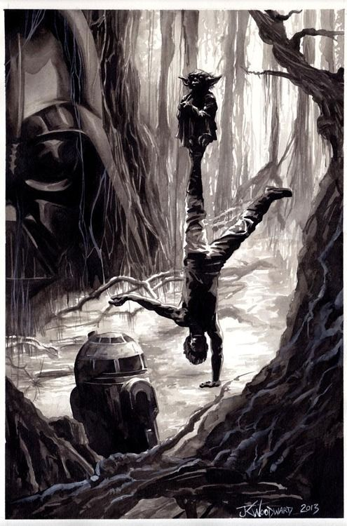 Star Wars: Return of the Jedi by J. K. Woodward