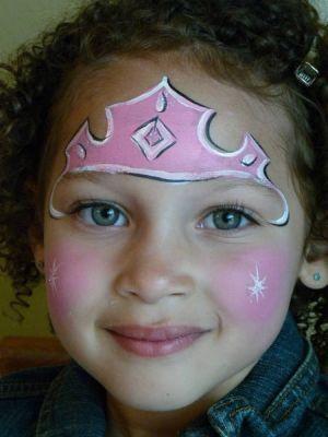 Pamuk Prenses Yuz Boyama Resim Cizmek