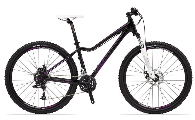 2014 Giant Tempt 0 Black And Purple 570 Bike Giant Bicycle